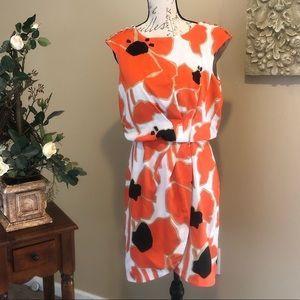 Jessica Simpson Floral Print Blousen Dress. size 6